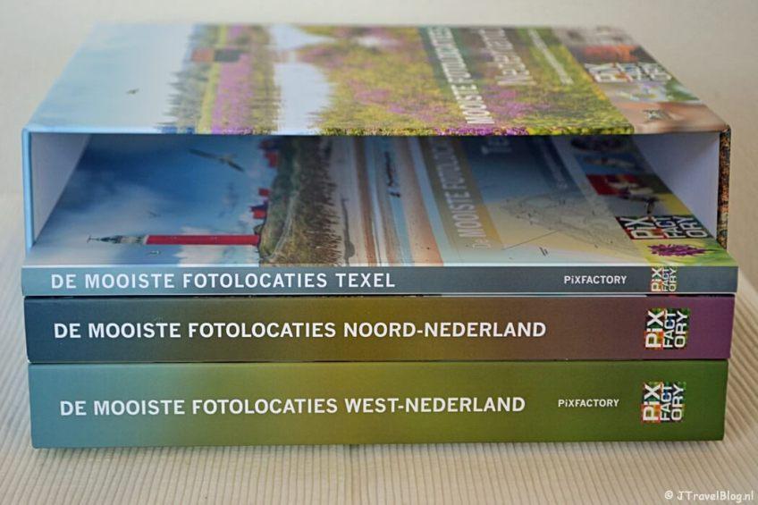 De luxe boekenbox als extra bij het boek 'De mooiste fotolocaties van West-Nederland'