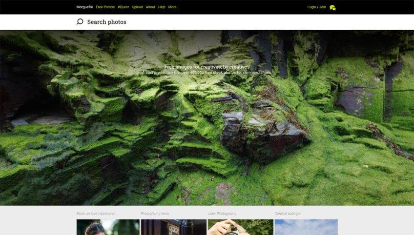 Morguefile: een website met gratis afbeeldingen