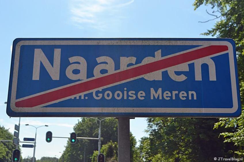 Naarden tijdens de 5e etappe van het Westerborkpad