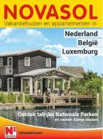 Gratis de Vakantiehuizen - Benelux reisgids bestellen bij Novasol