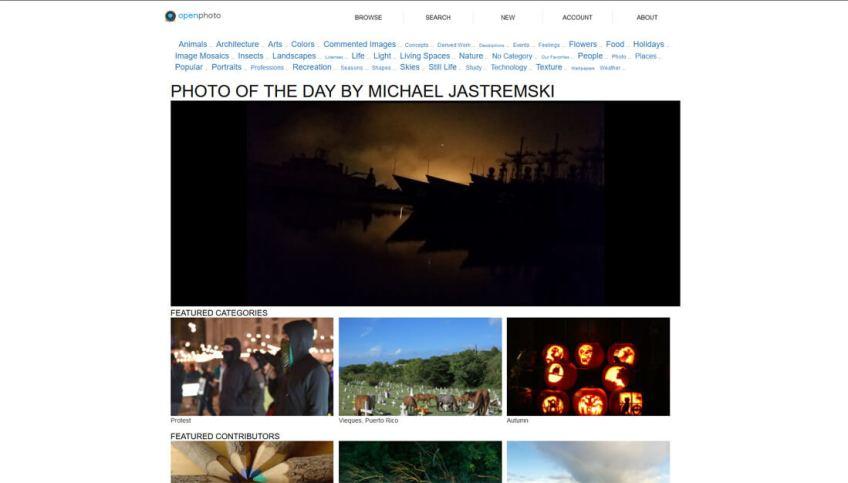 OpenPhoto: een website met gratis afbeeldingen