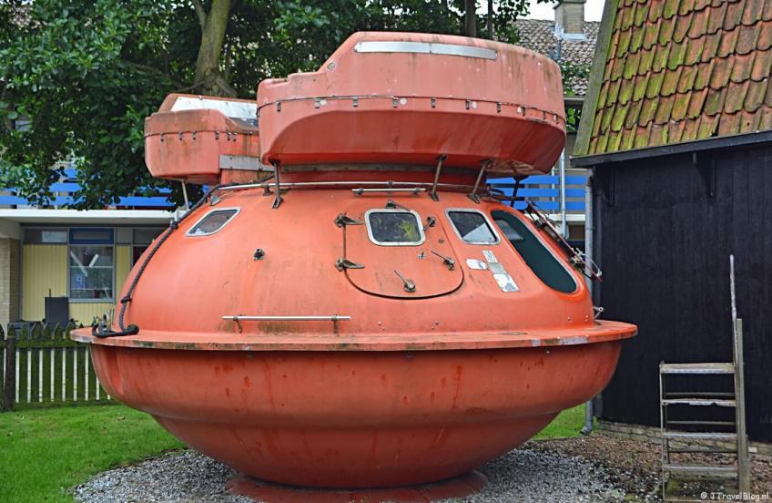 Het Kaap Skil Museum in Oudeschild op Texel