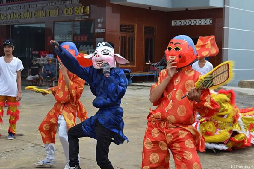 Dansers in Vietnam