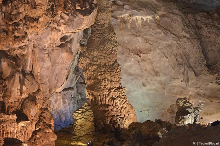 In de Pho Nha grotten