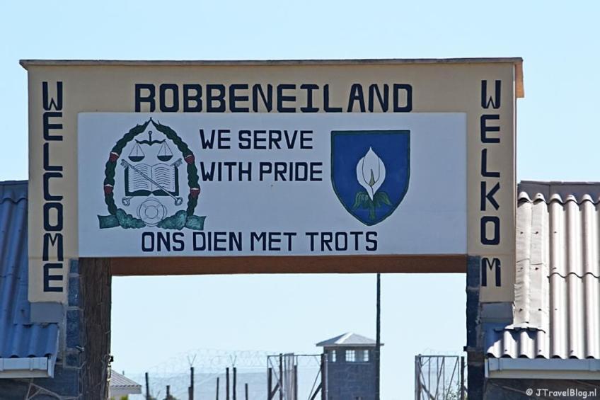 Robbeneiland bij Kaapstad