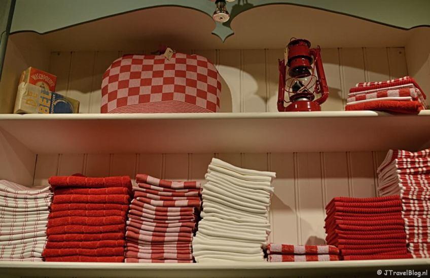 Keukentextiel bij Eef & Co in Haarlem