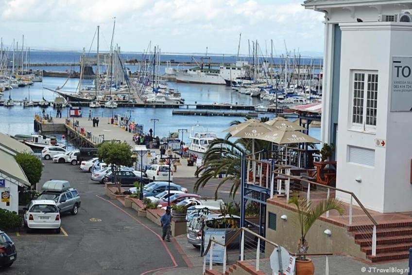 Simon's Town op het Kaapse Schiereiland in Zuid-Afrika
