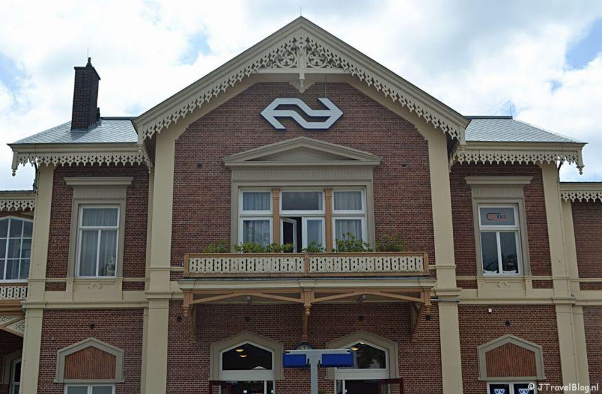 Station Baarn tijdens de 7e etappe van het Westerborkpad