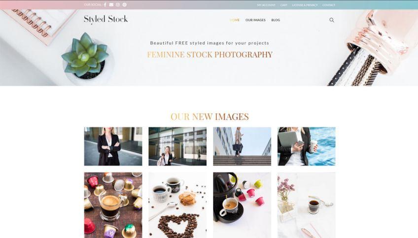 Styled Stock: een website met gratis afbeeldingen