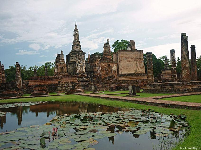 Sukhothai in Thailand op de Werelderfgoedlijst van UNESCO