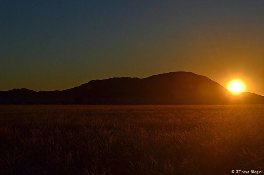 Sundowner nabij de Sossusvlei
