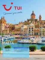 Gratis de Malta reisgids bestellen bij TUI