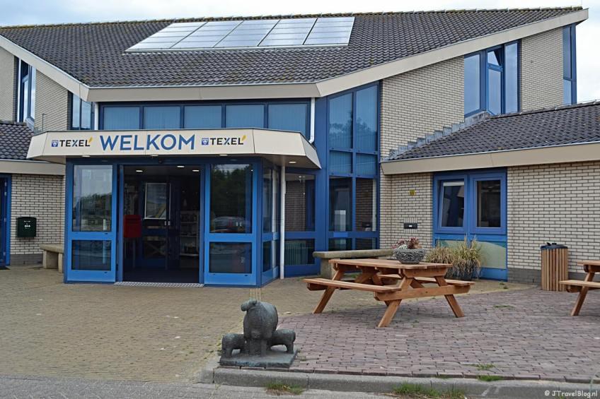 Het VVV-kantoor van Texel in Den Burg