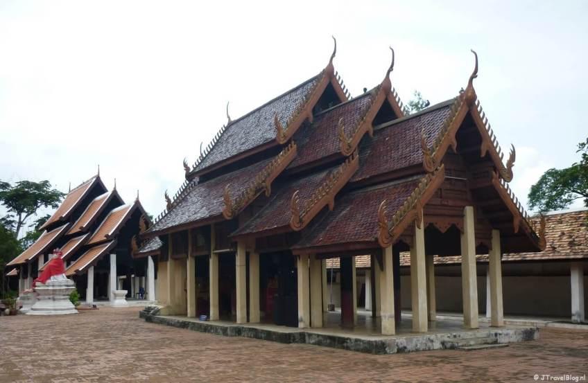 De Wat Phra That Lampang Luang tempel in Lampang