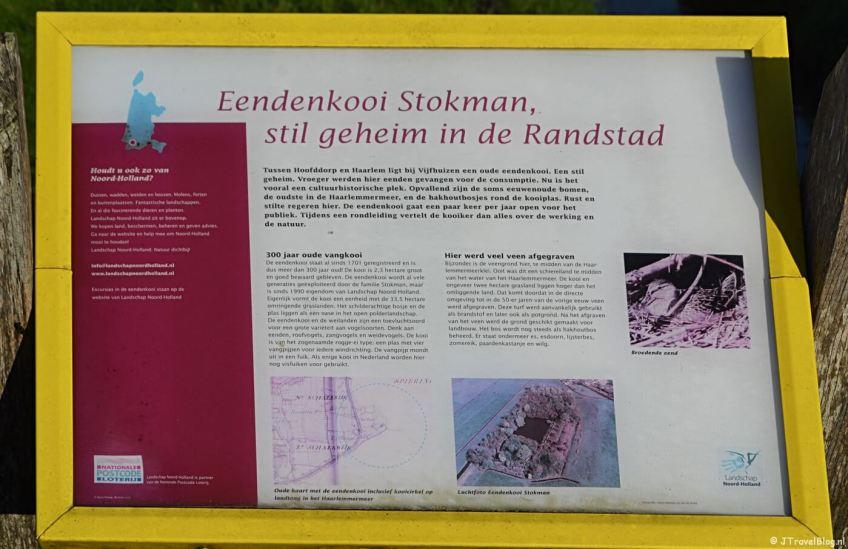 Verhalenpaal nr. 8 - EEND / Eendenkooi Stokman