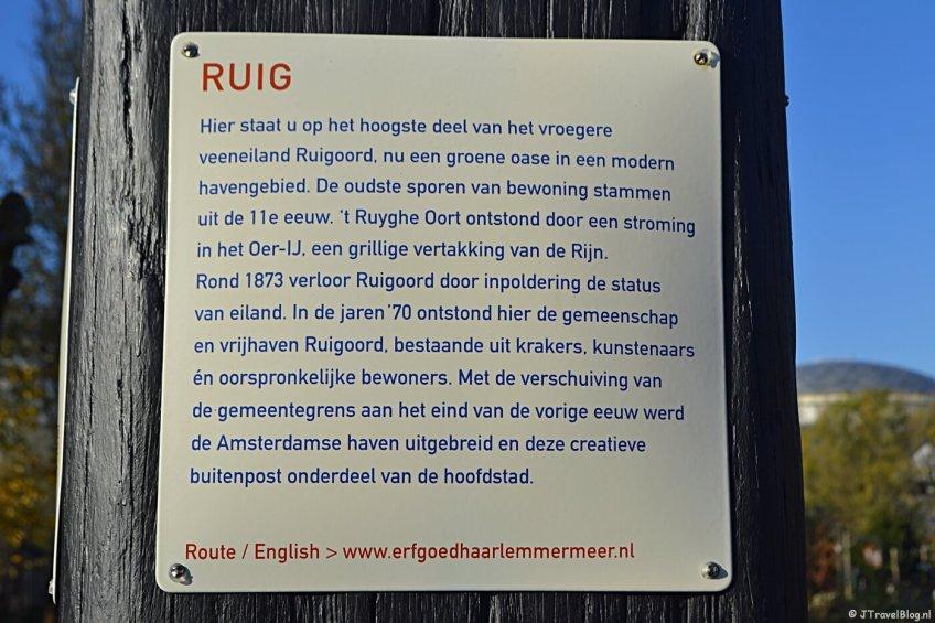 Verhalenpaal nr. 17 - RUIG / Ruigoord
