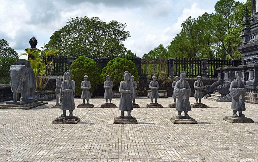Het Mausoleum van Hué
