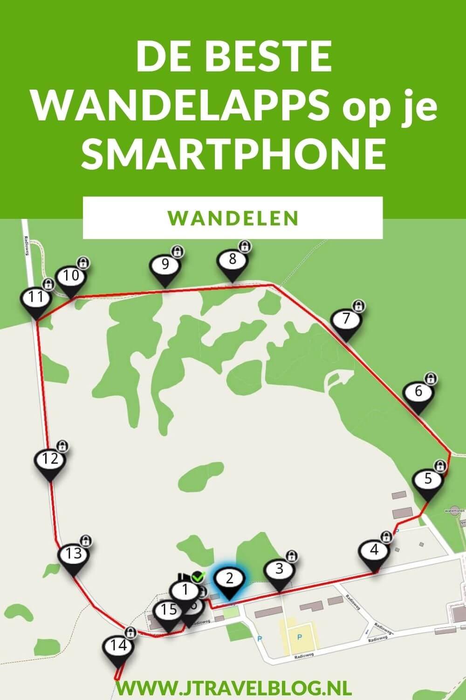 Ik heb een aantal wandelapps voor op je smartphone op een rijtje gezet. We maken steeds vaker een wandeling die we volgen via routepaaltjes of via de GPX-bestanden op de smartphone. Welke apps je voor een route kunt gebruiken lees je in deze blog. #wandelapps #wandelen #apps #smartphone #jtravel #jtravelblog