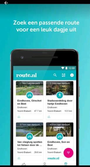De wandel app Route.nl