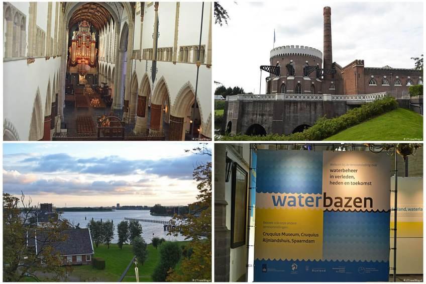 Instawalk Waterbazen met de St. Bavokerk in Haarlem, het Cruquius Museum in Cruquius en het Rijnlandshuis in Spaarndam