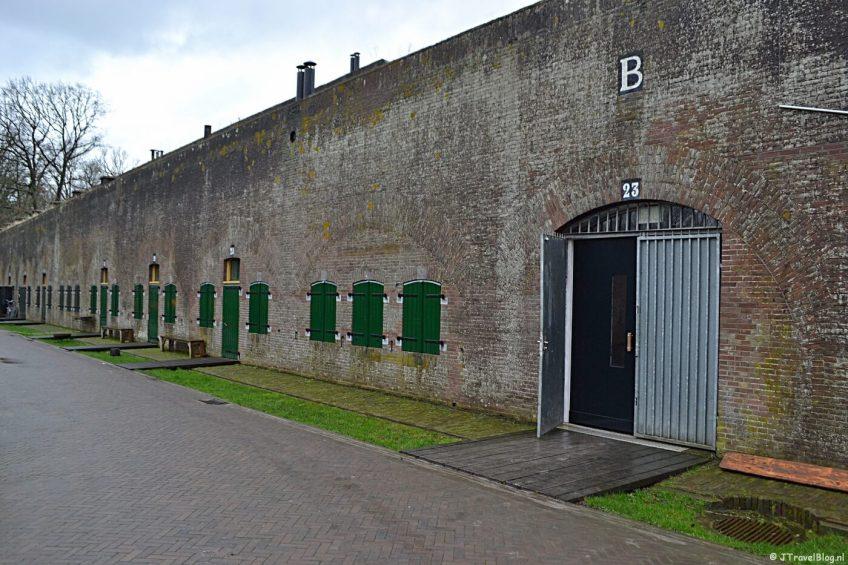 Het Waterliniemuseum bij Fort bij Vechten in Bunnik