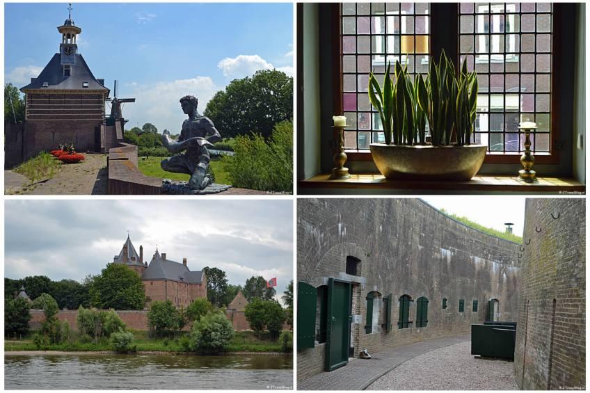 Instameet Waterliniepad 3 met bezoeken aan Gorinchem, Woudrichem, Slot Loevenstein en Fort Vuren.