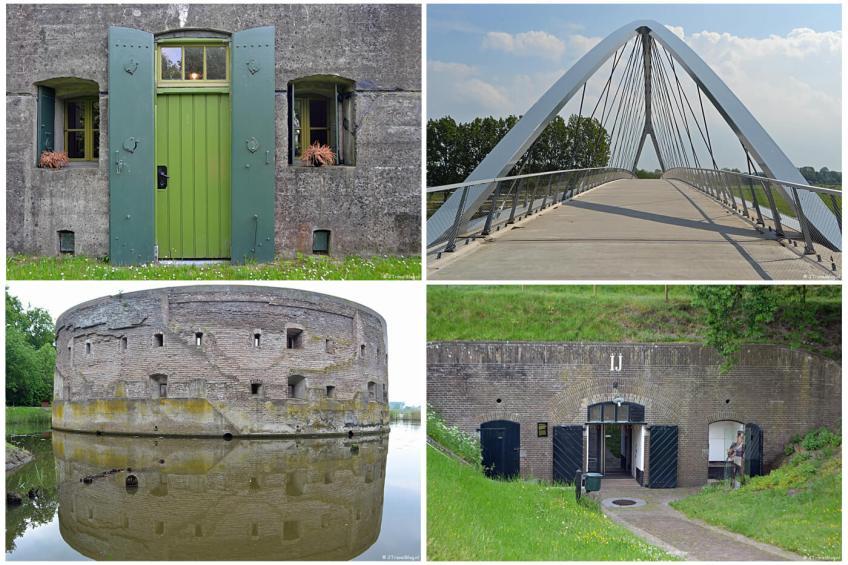 Instameet Waterliniepad 1 met bezoeken aan Fort Nigtevecht, de Liniebrug, Fort Uitermeer en Vestingmuseum Naarden.