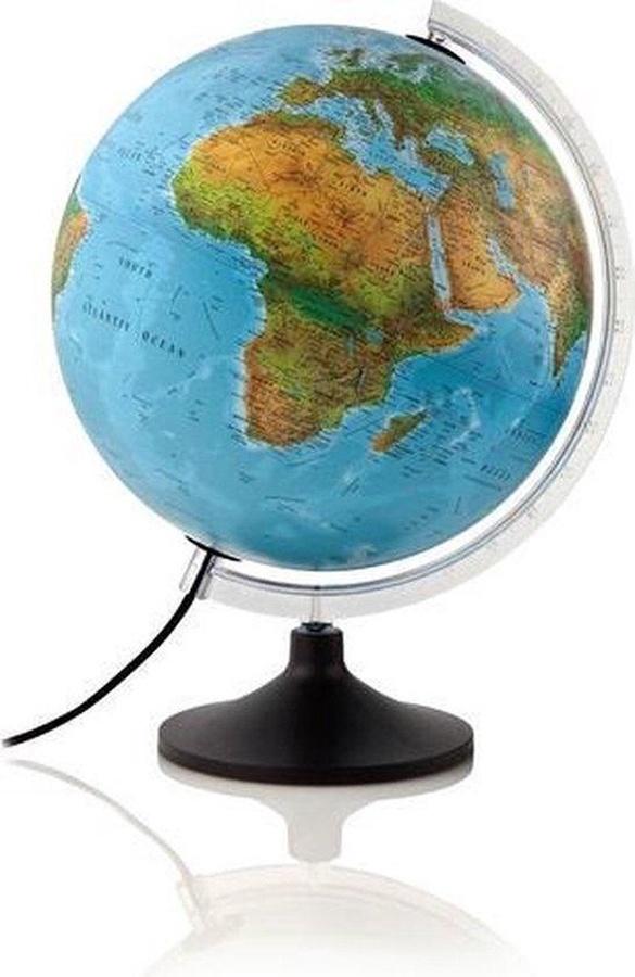 Een wereldbol, een vaderdagcadeau voor reislustige vaders