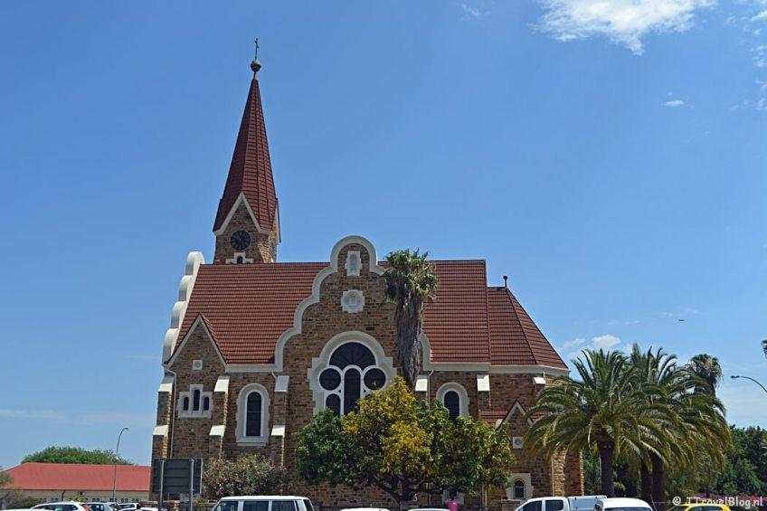 De kerk in Windhoek