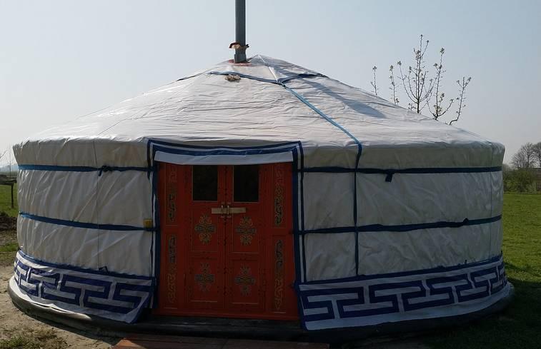 Yurt in Bedum/Groningen via Natuurhuisje.nl
