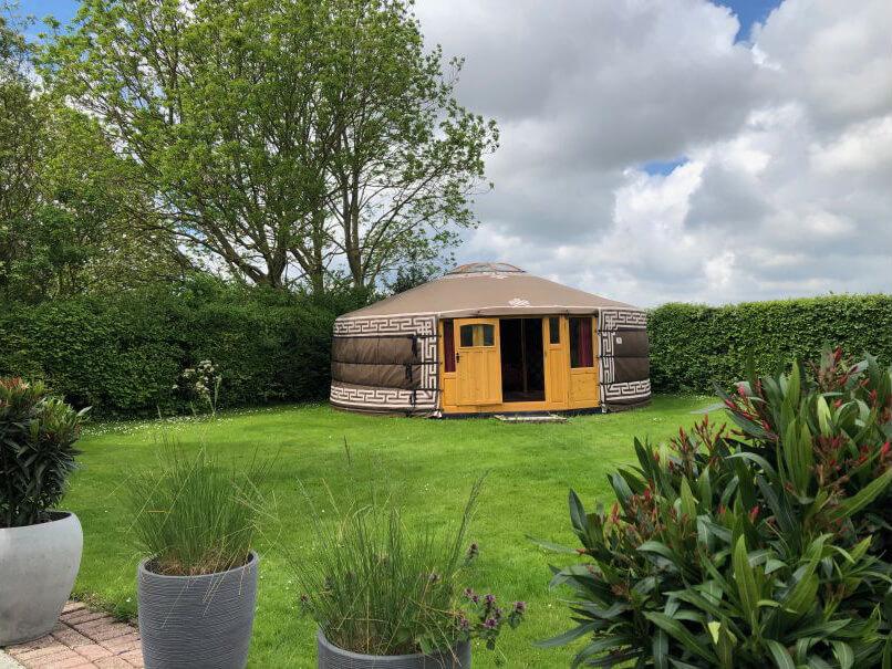 Yurt in Zonnemaire/Zeeland via Natuurhuisje.nl