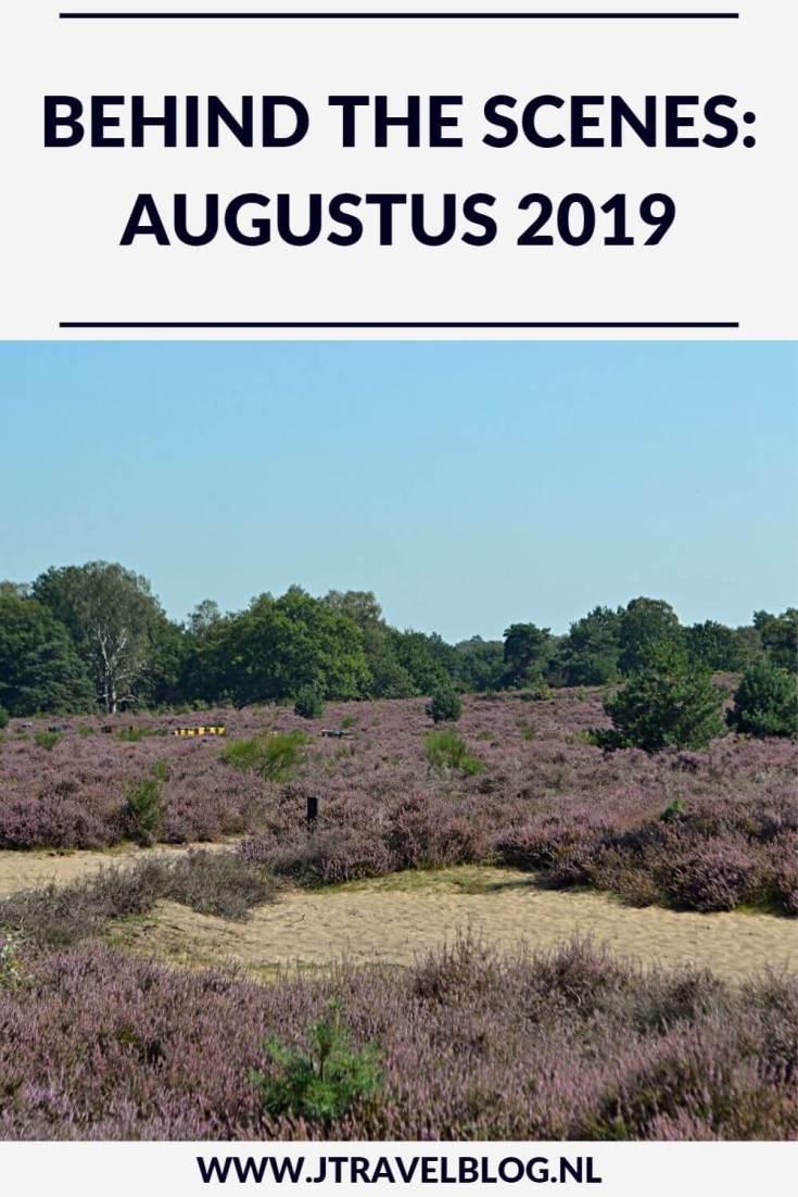 De maand augustus 2019 van JTravelBlog met wandelingen in de Amsterdamse Waterleidingduinen en in Nationaal Park Veluwezoom rond Rheden en een bezoek aan het LAM (Lisser Art Museum) en de tuinen rondom Kasteel Keukenhof in Lisse. Meer hier over lees je in dit maandoverzicht. #maandoverzicht #lisse #lamlisse #kasteelkeukenhof #wandelen #hiken #jtravel #jtravelblog #awd #nationaalparkveluwezoom