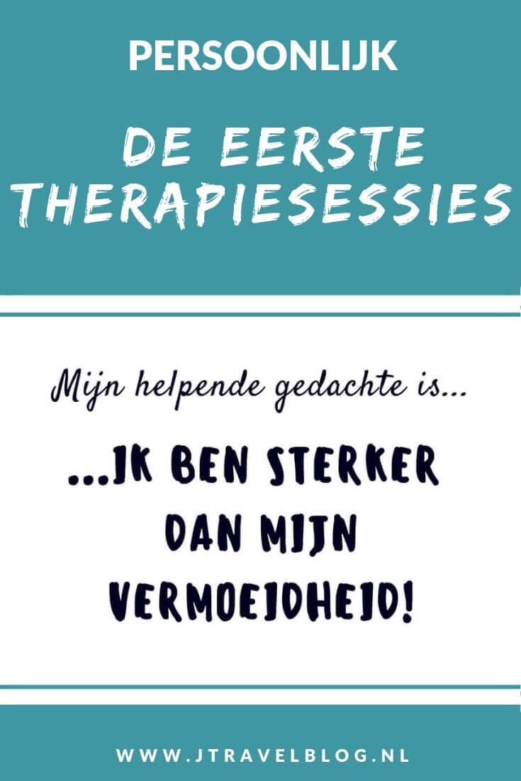 Al jaren lijd ik aan Chronische vermoeidheid/CVS/ME. Ik volg de cognitieve gedragstherapie. Meer over mijn eerste therapiesessies lees je hier. Lees je mee? #me #cvs #chronischevermoeidheid #chronischvermoeidheidssyndroom #cognitievegedragstherapie #jtravel #jtravelblog