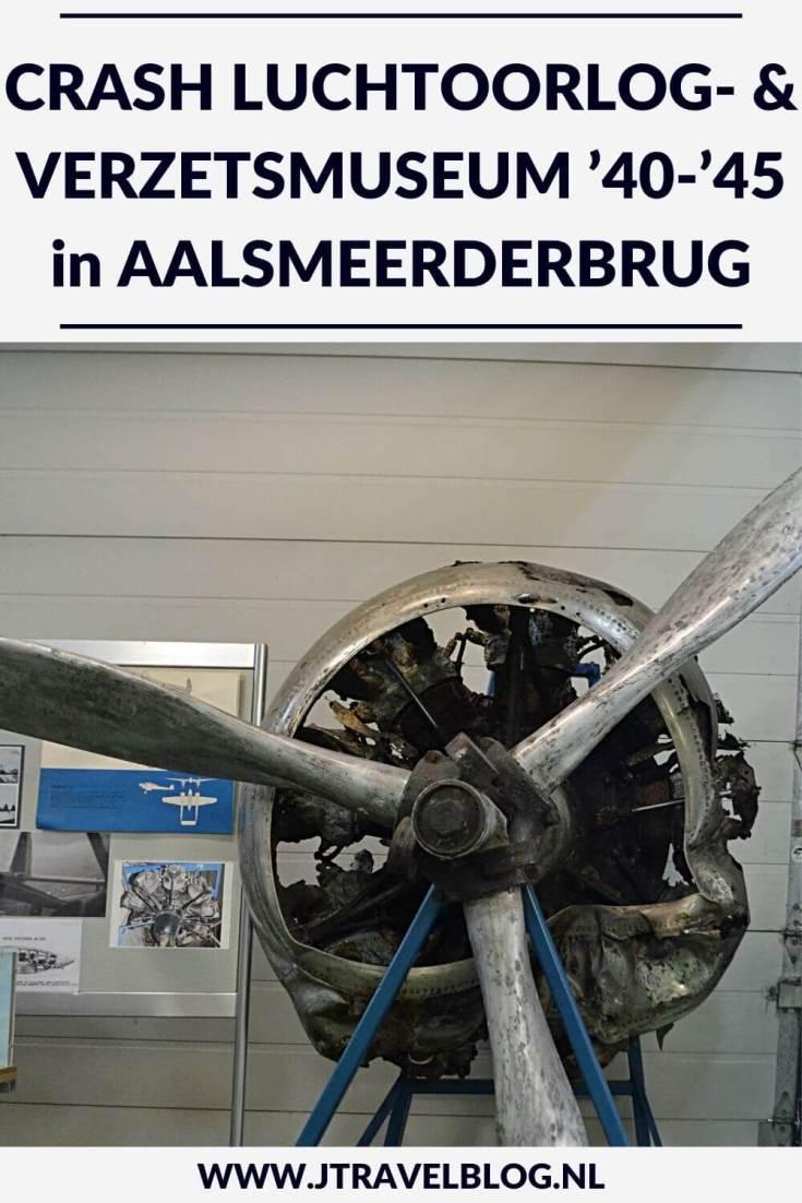 Ik bezocht het CRASH Luchtoorlog- & Verzetsmuseum '40-'45 in Aalsmeerderbrug. Het museum vertelt de geschiedenis van tientallen geallieerde, Nederlandse en Duitse vliegtuigen die tijdens de Tweede Wereldoorlog in en rondom de Haarlemmermeer zijn neergestort. Meer lees je in dit artikel. Lees je mee? #crash40-45 #crashluchtoorlogenverzetsmuseum40-45 #aalsmeerderbrug #haarlemmermeer #museum #jtravel #jtravelblog