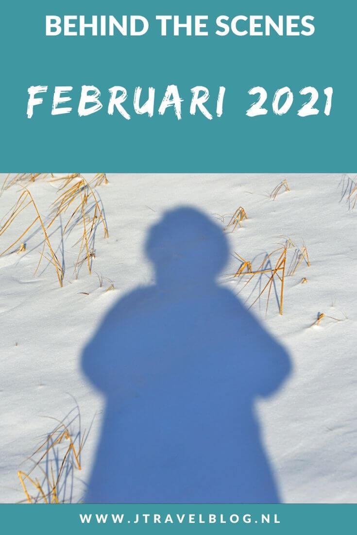 In februari 2021 maakte ik een korte wandeling in de sneeuw rondom mijn huis, twee wandelingen in de Amsterdamse Waterleidingduinen en een fietstocht langs houtsnijwerk in het Haarlemmermeerse Bos. Meer hier over lees je in dit maandoverzicht. #maandoverzicht #februari 2021 #sneeuwwandeling #amsterdamsewaterleidingduinen #haarlemmermeersebos #jtravel #jtravelblog
