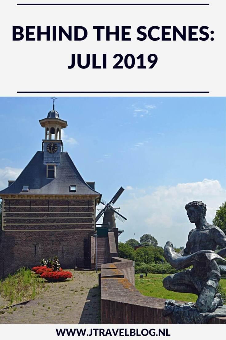 De maand juli 2019 van JTravelBlog met een Instameet Waterliniepad deel 3 en een bezoek aan Groningen. Meer hier over lees je in dit maandoverzicht. #maandoverzicht #groningen #instameet