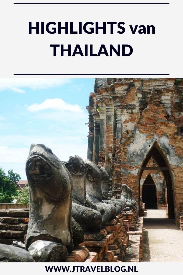 Ik heb mijn highlights van Thailand voor je op een rijtje gezet, lees je mee? #bangkok #chiangmai #chiangrai #ayutthaya #kanchanaburi #thailand #azie #asia #jtravel #jtravelblog