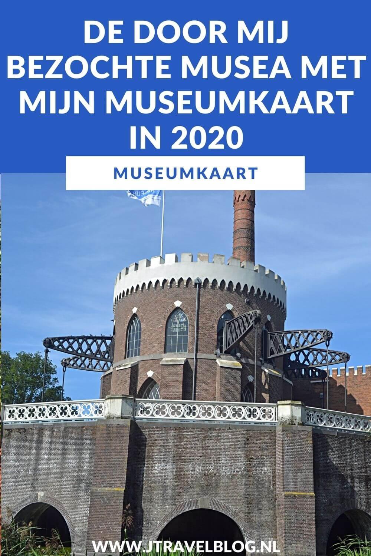 In deze blog heb ik de in 2020 door mij bezochte musea met mijn museumkaart op een rijtje gezet. Ik leg je ook uit wat een museumkaart is en wat je voordeel is boven elke keer losse entreetickets kopen. Lees je mee? #museumkaart #2020 #museum #jtravelblog #jtravel