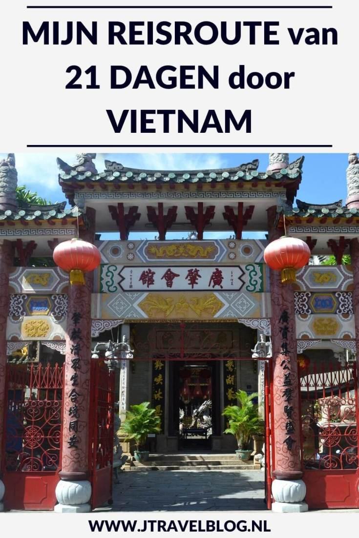 Ik maakte een 21-daagse groepsrondreis door Vietnam. Mijn route begon in Hanoi en eindigde in Ho Chi Minh City. Welke plekken die ik onderweg heb bezocht, lees je in deze blog. Lees je mee? #vietnam #rondreis #groepsrondreis #reisroute #jtravelblog #jtravel