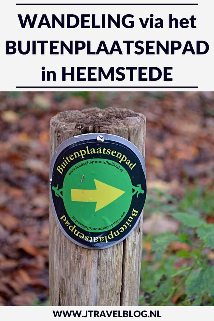 Het Wandelrondje De Overplaats & De Hartekamp in Heemstede is een wandeling langs buitenplaatsen rond Heemstede, Mijn route lees je hier. Lees en wandel je mee? #buitenplaatsen #wandelen #hartekamp #overplaats #heemstede #jtravelblog #jtravel