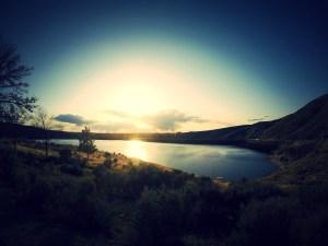 Lucky Peak Sunset