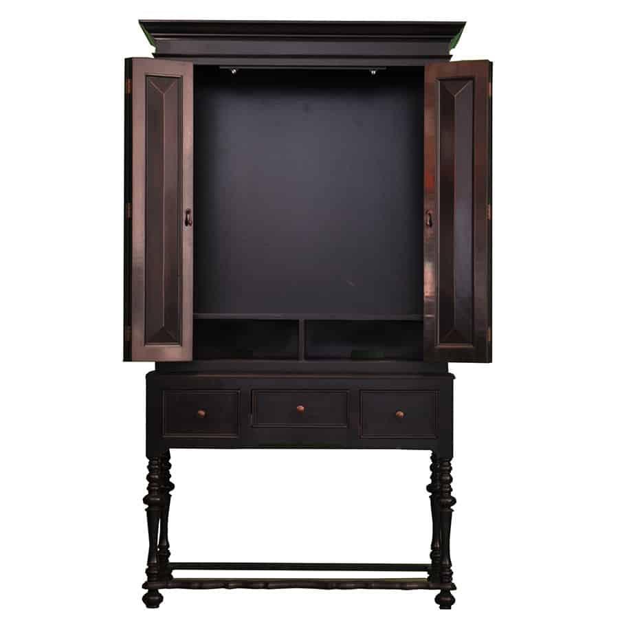 Custom Tall Tv Cabinet  J Tribble