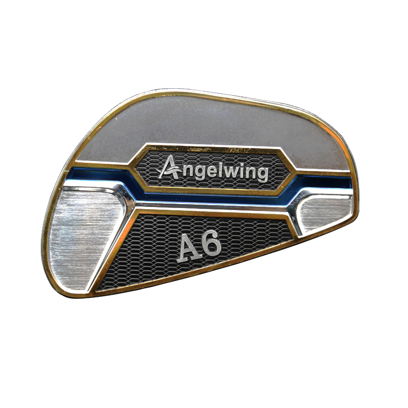 3D metal electroform nickel transfer foil stickers with strong 3M adhesive for golf club