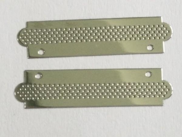 Speaker Mesh metal sticker 4 - Mini Black Perforated Metal Mesh Electroform Nickel Mesh Panel For Metal Speaker Grille