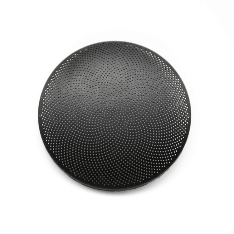 Customized metal speaker mesh speaker sticker netting perforated metal mesh for iPhone smartphone dustproof