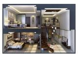 Dijual Apartemen The Accent - 1 BR & 2 BR Semi Furnished
