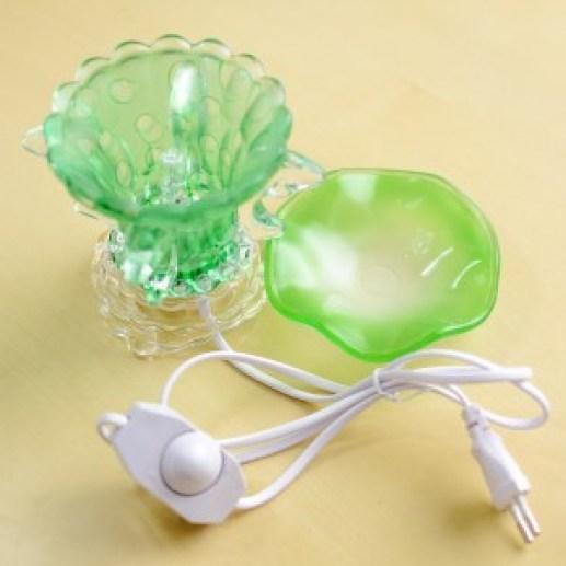 Jual tungku aromaterapi listrik hijau