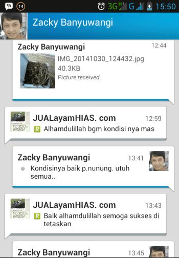 Testimonial Bapak Zacky Banyuwangi
