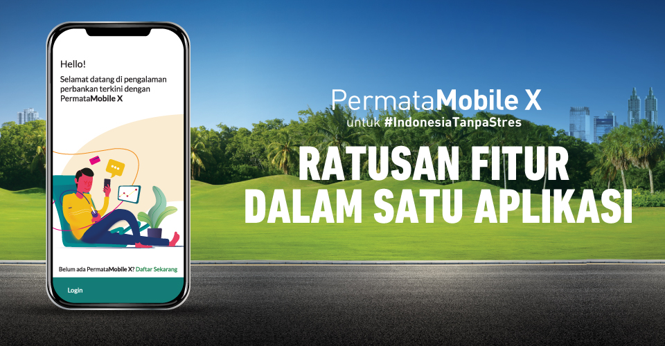 Aplikasi Android Permata Mobile X