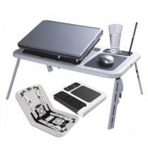 Meja Laptop Murah Meriah Merk E-TABLE - Berbahan PLastik - Mudah Dibawa Kemana Mana - Ringan - Kaki Kokoh - Ketinggian Kaki BIsa diatur Meja lipat ini cocok untuk anda yang sering berada di depan laptop Meja ini dilengkapi dengan : - Ruang Untuk Mousepad - Ruang Untuk Tempat Minum - RUang Untuk Meletakkan Alat Tulis BERAT BARANG : 2KG DIMENSI BARANG : 52CM X 31CM